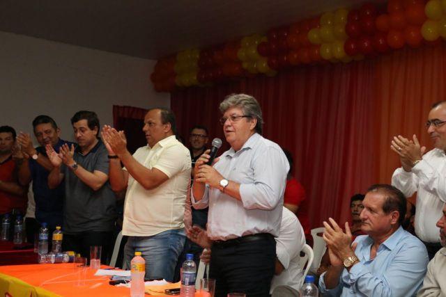 Gervásio participa de evento do PSB no Conde e destaca trabalho de Márcia Lucena na cidade