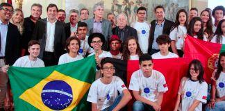 Ricardo participa do pré-embarque dos selecionados no Gira Mundo e lança Edital 2018