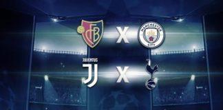 Basel x City e Juventus x Tottenham: começam as 8ªs de final da Champions nesta terça