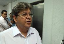 """Veto do TRE: """"É meu dever não permitir que a censura se estabeleça na PB"""", desabafa João"""