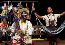PMJP realiza evento com grupo de teatro infantil no Parque da Lagoa