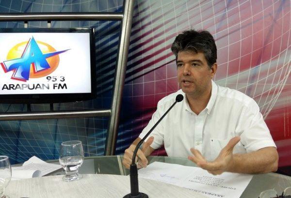"""""""Lucélio é um jovem arejado"""", diz Ruy sobre pré-candidato do PV ao governo"""