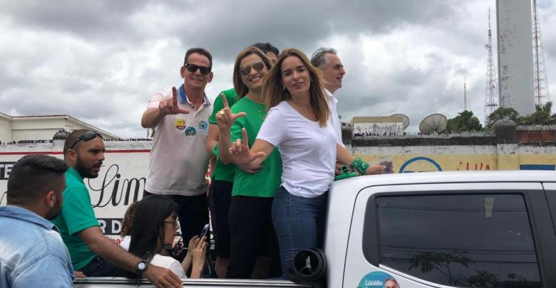 Marcos Vinícius comanda carreata de Lucélio no bairro de Tambiá