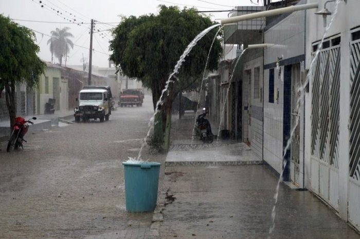 Saiba quais foram os municípios onde mais choveu nas ultimas 48 horas, na Paraíba