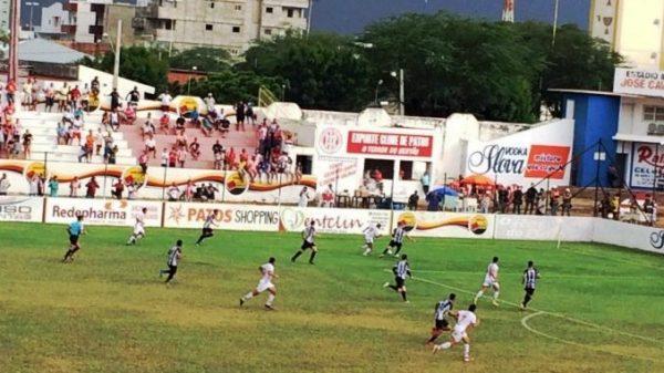Treze perde de novo e fica mais perto do rebaixamento no Campeonato Paraibano