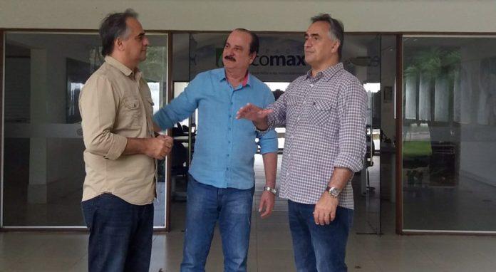 Luciano e Lucélio visitam futuras instalações do Polo Extremo Oriental das Américas