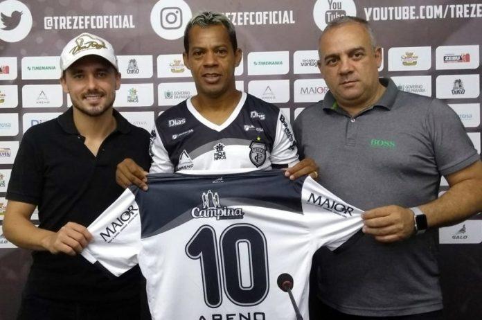 Aos 43 anos, Marcelinho Paraíba é o novo reforço do Treze para Série C