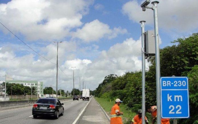 Saiba onde estão instalados os radares que passam a multar nas BRs da PB