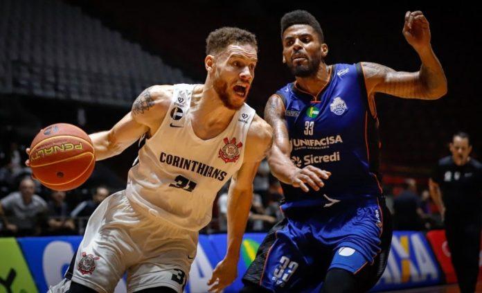 NBB: Unifacisa perde para o Corinthians e cai três posições na classificação