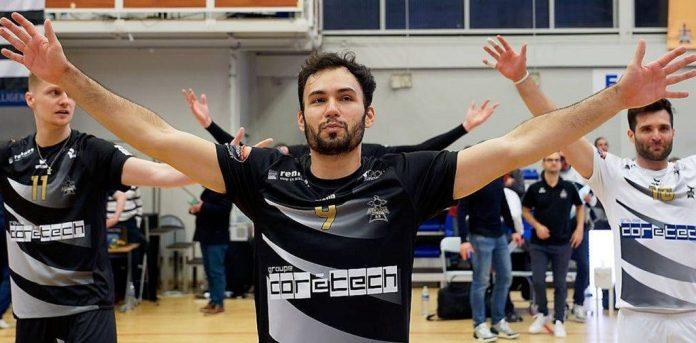 Paraibano lidera estatísticas e é o melhor levantador do Campeonato Francês