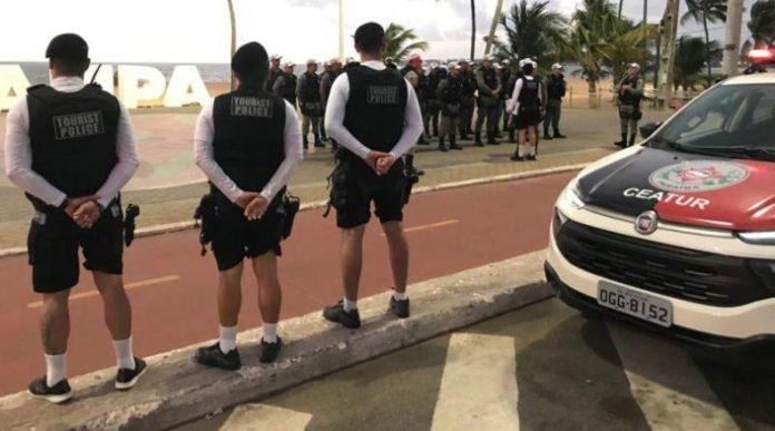 Número de roubos na orla de João Pessoa tem redução de 41%, revela CEATur