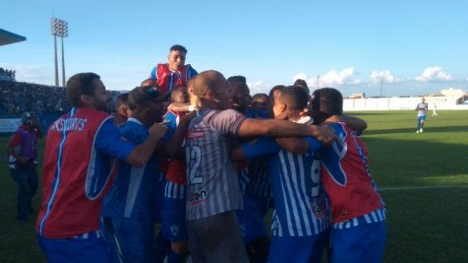 Paraibano: Atlético de Cajazeiras vence clássico sertanejo e se isola na liderança
