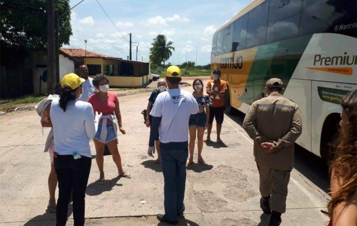 Covid-19: acesso a seis cidades da Grande João Pessoa passa a ser restrito