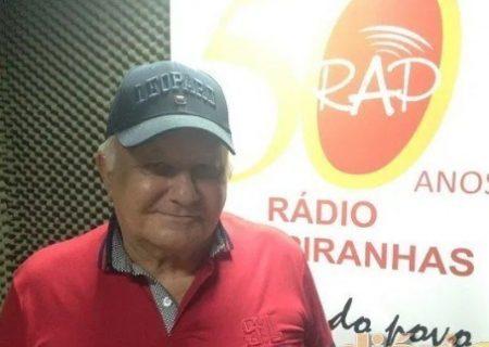 Radialista Walter Cartaxo morre em João Pessoa e API divulga nota de pesar