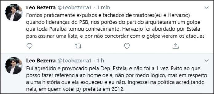 Vereador Leo Bezerra rebate Estela e lembra
