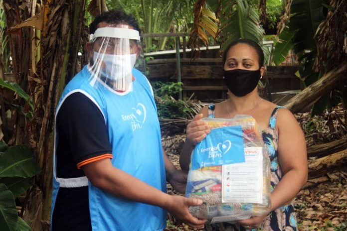 Energisa e Unesco doam cestas básicas a famílias vulneráveis de JP e CG