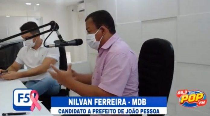 Em entrevista ao'F5', Nilvan garante melhorias na saúde básica de JP