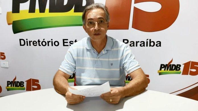 Em nota, presidente do MDB-JP nega envolvimento em investigação da PF