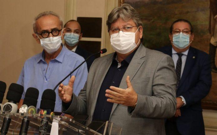 João e Cícero traçam ações para evitar disseminação do coronavírus em JP
