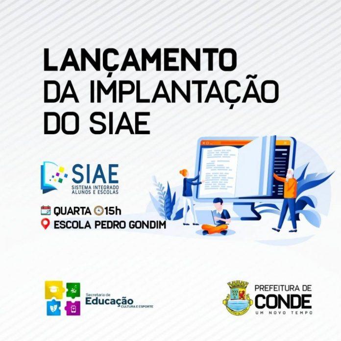 Prefeitura de Conde lança plataforma digital na rede municipal de ensino