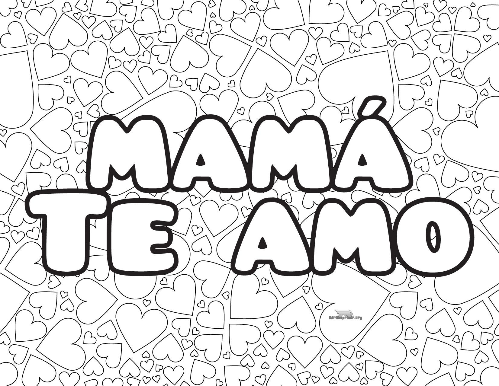 Search Results For Te Amo Letra Para Colorear Calendar