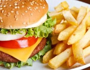 Hambúrguer-batata