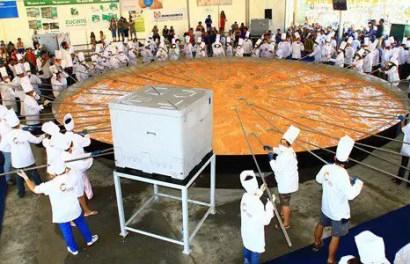 Omelete gigante