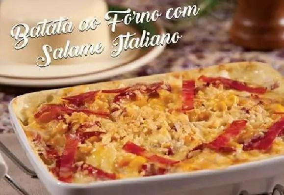 BATATA AO FORNO