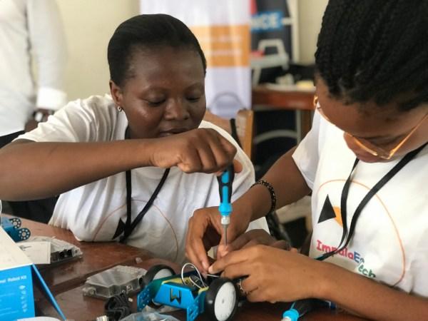 Formation des Tech Educators ImpalaEdTech - Parakou