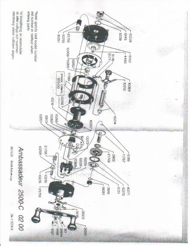 Abu Garcia Reel Parts Diagram | Jidimotor co