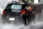 Lluvias, granizadas, calor extremo y fuertes vientos prevalecen en el país