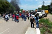 CNTE continúa bloqueos en Oaxaca