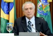 Temer asume presidencia de Brasil tras salida de Rousseff