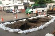Avanza reposición de línea de drenaje en Avenida Francisco Villa