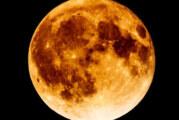 El miércoles habrá superluna azul de sangre con eclipse total