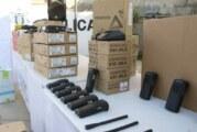 Entrega Jaime Cuevas equipo de radiocomunicación a cuerpos de Seguridad