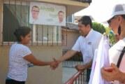 Ofrece Roberto González beneficios y  apoyos reales para los ciudadanos