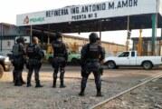 Toman PF y el Ejército refinería de Salamanca