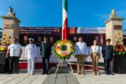 Recuerdan hazaña de los Niños Héroes de Chapultepec