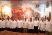 AMLO revisa con gobernadores anteproyecto del Tren Maya
