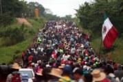 Llegan a CDMX mil 200 migrantes; esperan hasta 5 mil
