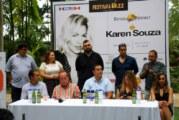 Presentan a Karen Souza dentro del primer Festival de Jazz Riviera Nayarit