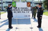 Realizan Cambio de Mandos en la 41ª Zona Militar