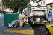 Se suspende recolección de basura este miércoles
