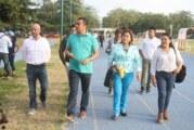 Ediles y COMUDE realizan recorrido por instalaciones deportivas de PV