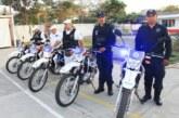 Refuerzan Policía y Tránsito con más motocicletas