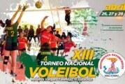 Efectuará Antorcha XIII Torneo Nacional de Voleibol