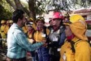 SEMADET inicia primera capacitación de mujeres en Jalisco en Manejo del Fuego