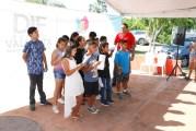 Clausura presidenta de DIF curso de verano en 'Casa Vinculación'