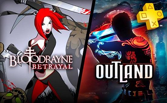 Bloodrayne y Outland PLUS